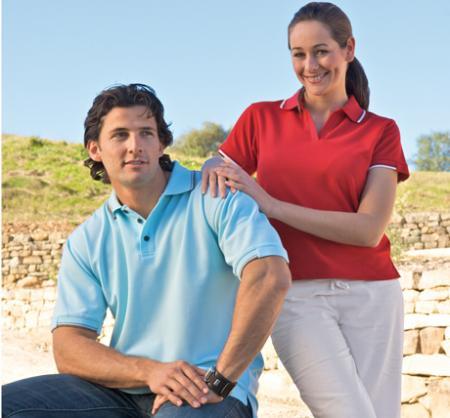 Ladies Standard Plus Cool Dry Polo Shirt