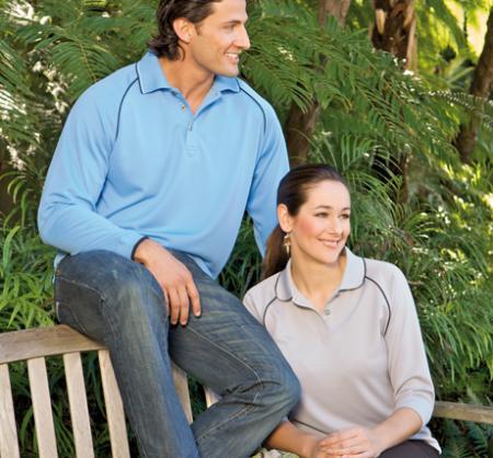 Ladies Cool Dry Polo 3/4 Shirt