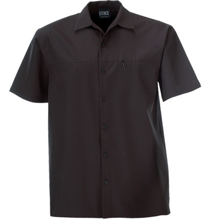 Mens Woven Shirt - Short Sleeve