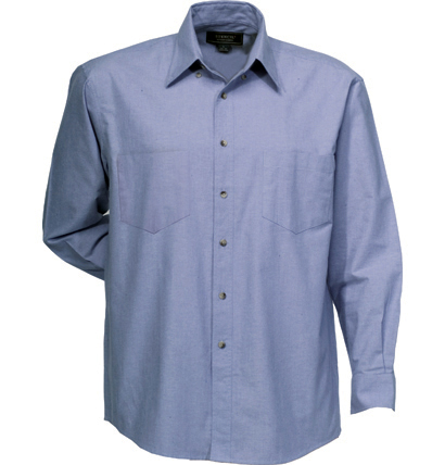Mens Chambray Shirt - Short Sleeve