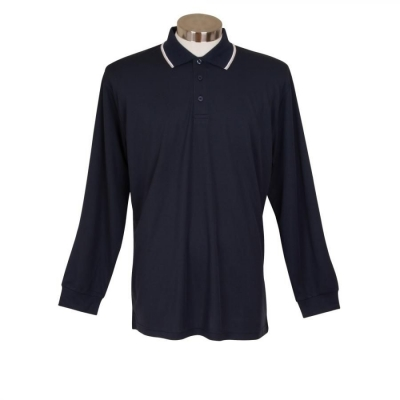 Mens Long Sleeve Polo