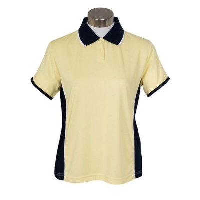 Ladies Spliced Polo