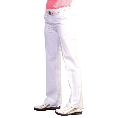 Ladies Flat Front Pant
