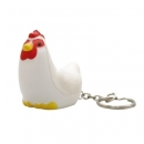 Stress Rooster Key Ring