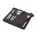 5 Piece Bbq and Apron Set