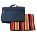 Polar Fleece Cushion/Blanket Navy