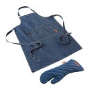 Jamie Oliver Denim Apron And Kitchen Glove