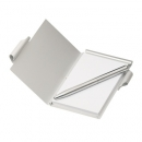 Aluminium Pocket Memo Pad With Ball Pen