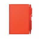 Plastic Note Pad with Pen