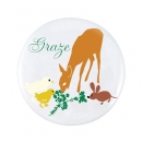 Button Badge- 58mm Round