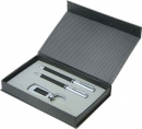 The Carbon Fibre Metal Pen Gift Set