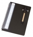PP Cover Notebook With Pen And Scale Ruler