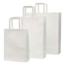 Paper Bag - Medium-White