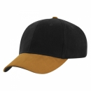 6 Panel HBC Cap Sueded Top Pea