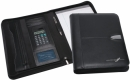 Bradford Leather Calculator Zip Portfolio