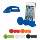 SILICONE IPHONE STAND WITH SOUND ENHANCER