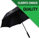 Premium Gale Proof Vented Golf Umbrella by Seamless Merchandise