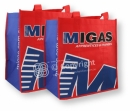Non Woven Shopping Bag - 2 colour all over print