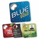 Coaster with Bottle Opener by Seamless Merchandise