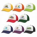 Trucker 5 Panel Baseball Cap White front Free Freight nationwide