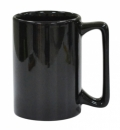 Macho Black Coffee Mug